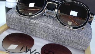 กรอบแว่นแฟชัน เลนส์โปรเกรสซีฟ ย้อมสีกันแดด