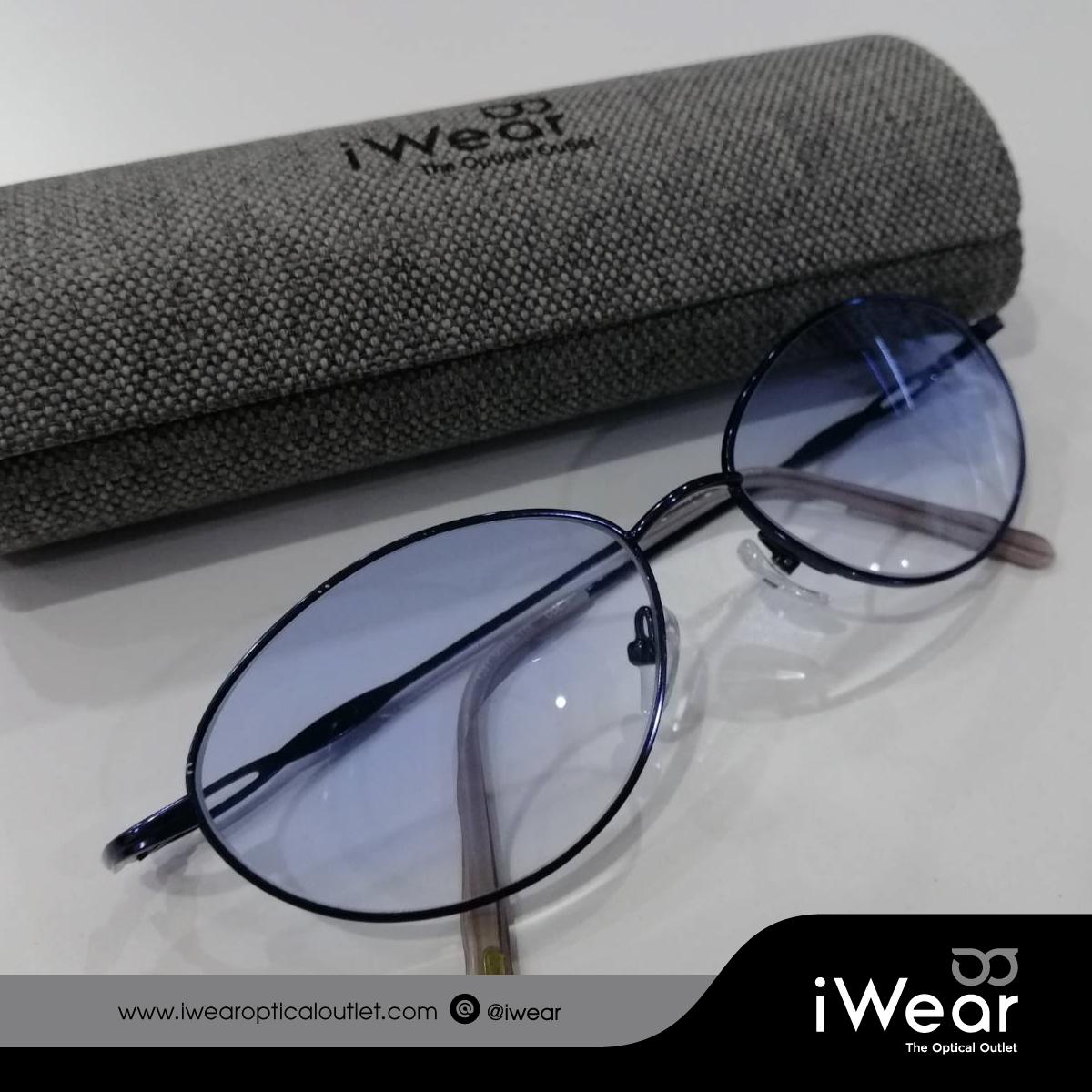 แว่นสายตา เลนส์สองชั้น (bifocal) แบบ Kryp-tok lens