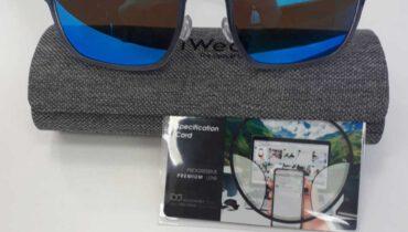 แว่นสายตา เลนส์โปรเกรสชีฟ รุ่น Platinum  Premium เปลี่ยนสีเทา