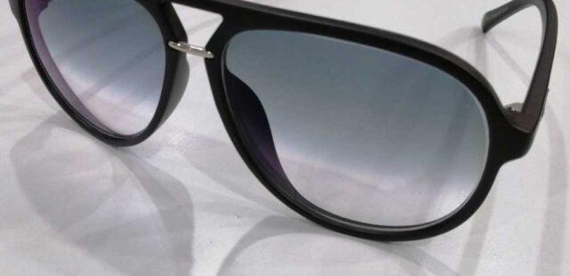 กรอบแว่นตา mujosh เลนส์ทำสีไล่สี Classic Grey(กันแดด)