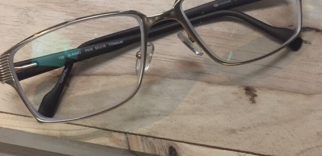 ประกอบแว่นสายตา กรอบ Steepper Titanium รุ่น SI – 60042 F010