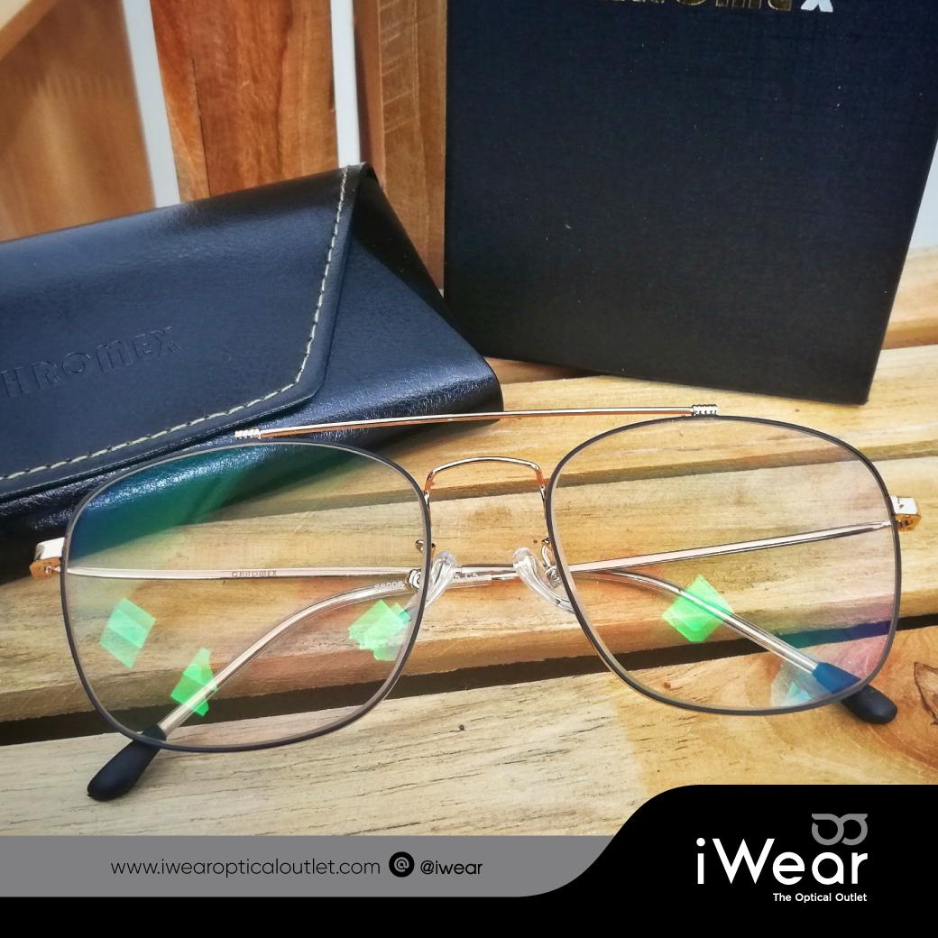 แว่นสายตา เลนส์โปรเกรสซีฟ smart กรอบกันแดดแนววินเทจ