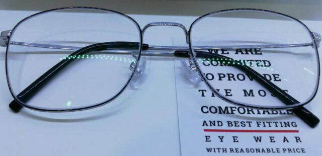 แว่นสายตา กรอบแว่น B-Titanium IP เลนส์   1.56Platinum Sv Emi Hmc
