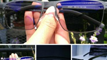 ผลงานประกอบแว่น กรอบแว่นตา IP Hyperelastic. AR291