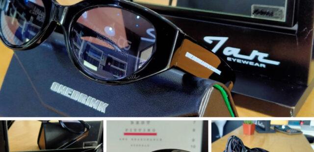 ผลงานประกอบแว่นชนิด Single Lens ย้อมสี