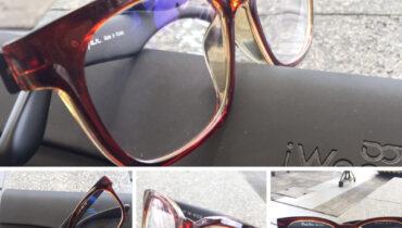 ผลงานประกอบแว่น กรอบแว่น iwear รุ่น 8589