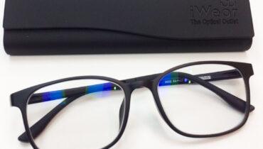 ผลงานประกอบแว่นสายตา กรอบแว่นตา B-Ultem รุ่น 2002