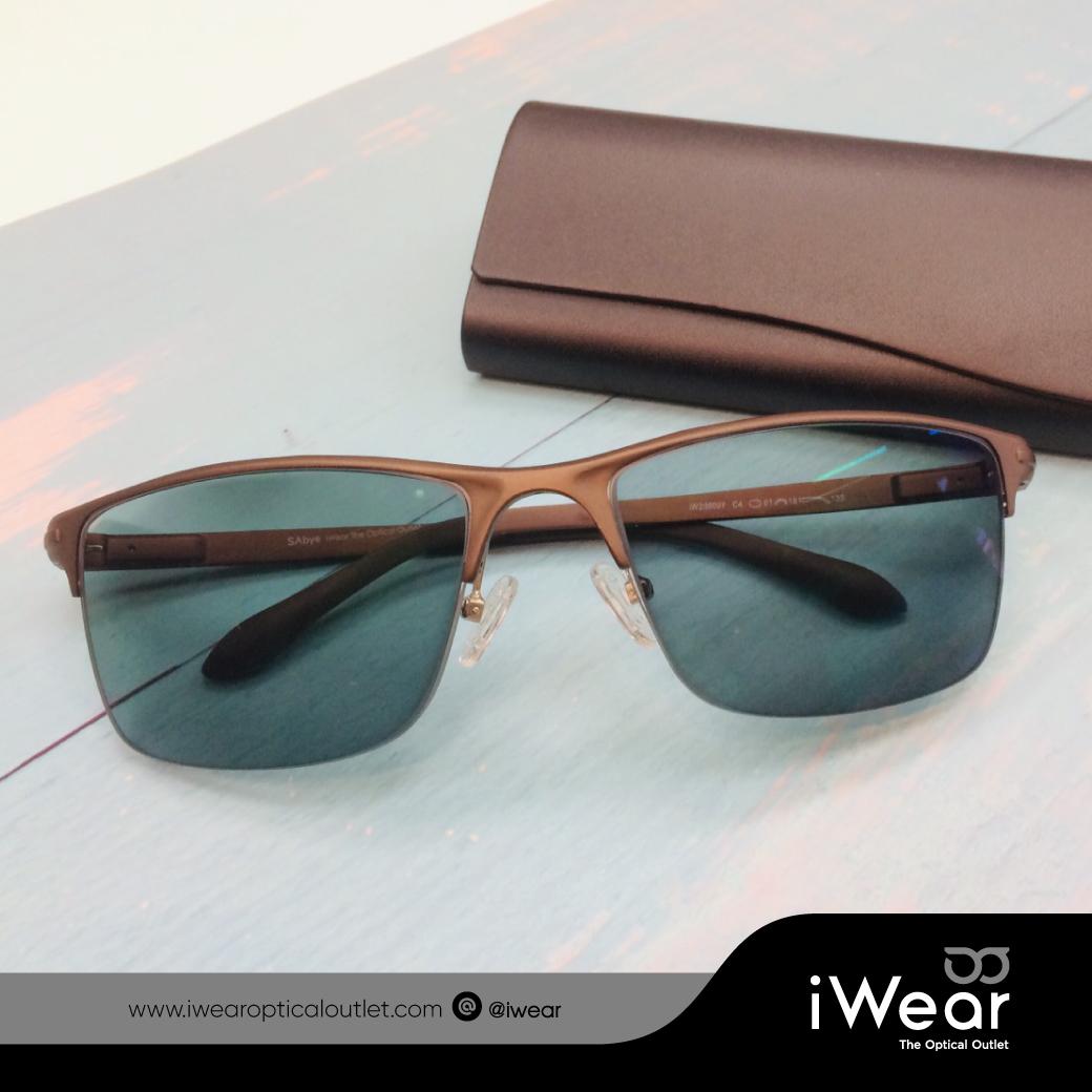 ผลงานการประกอบ แว่นสายตา กรอบแว่นตา SAbye รุ่น iw206007 C.4